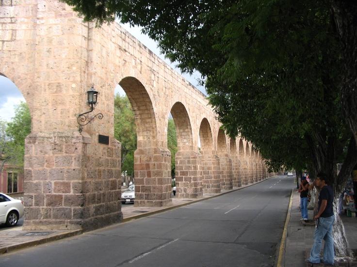 Los Arcos (El Acueducto) Morelia Michoacan Mexico.