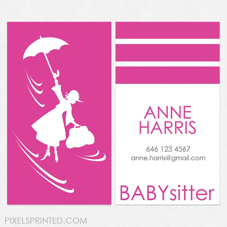 12 best business cards images on Pinterest | Au pair, Business ...