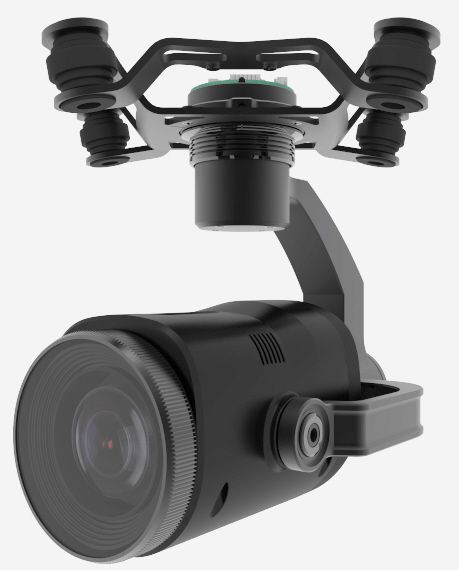 Integrated Gimbal And Camera on the new Walkera Voyager 4 drone. Tremendous 16 X Optical Zoom