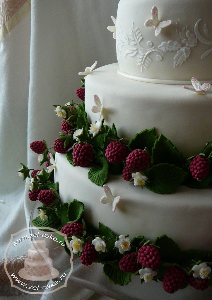 Торт Малиновая свадьба