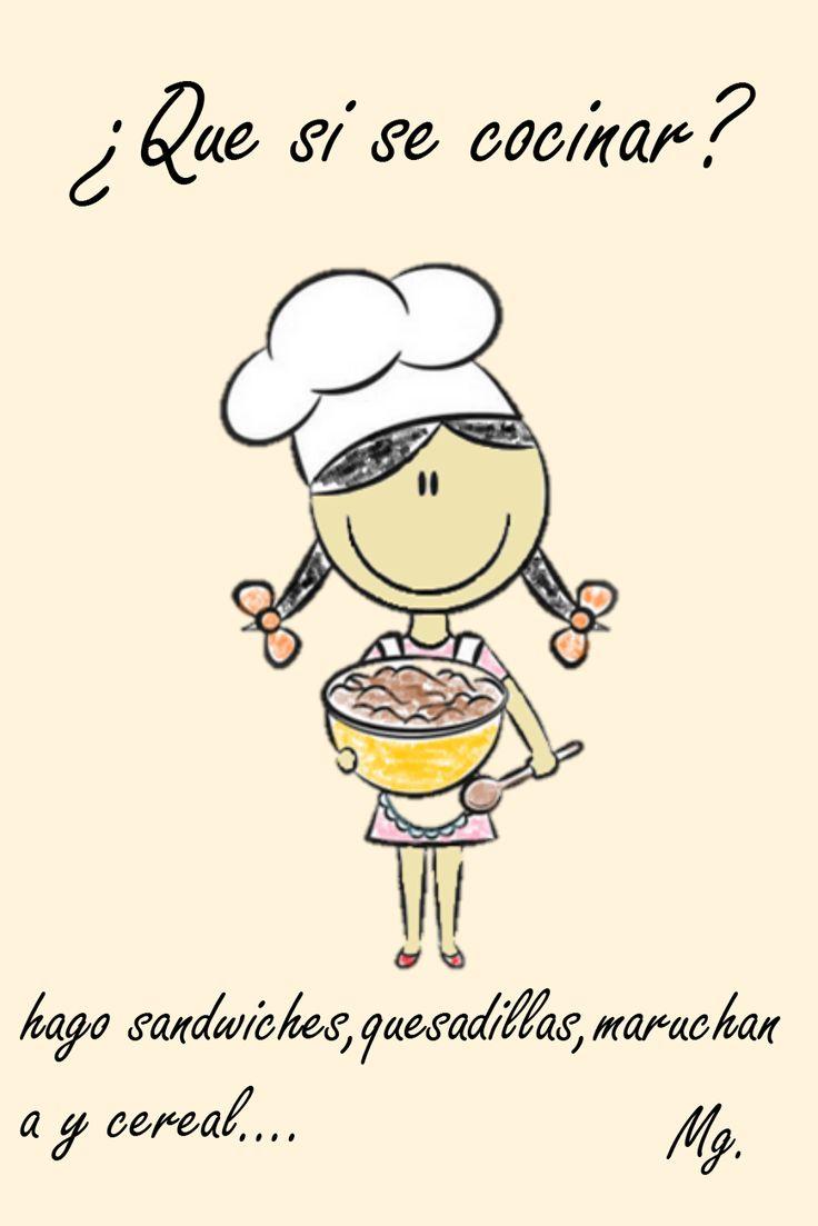 50 cosas sobre mi ... frases ¿Que si se cocinar? #compartirvideos #watsappss #funnypictures