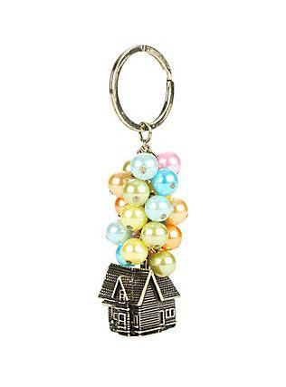 Disney Up House Balloon Key Chain,