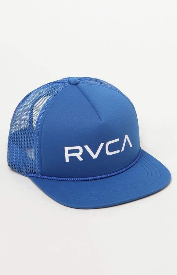 ee35d0e3757940 RVCA Foamy Snapback Trucker Hat #affiliatelink   RVCA in 2019   Hats ...