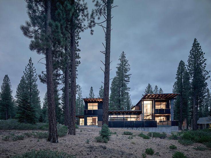 greg faulkner architects / mackin residence, martis camp