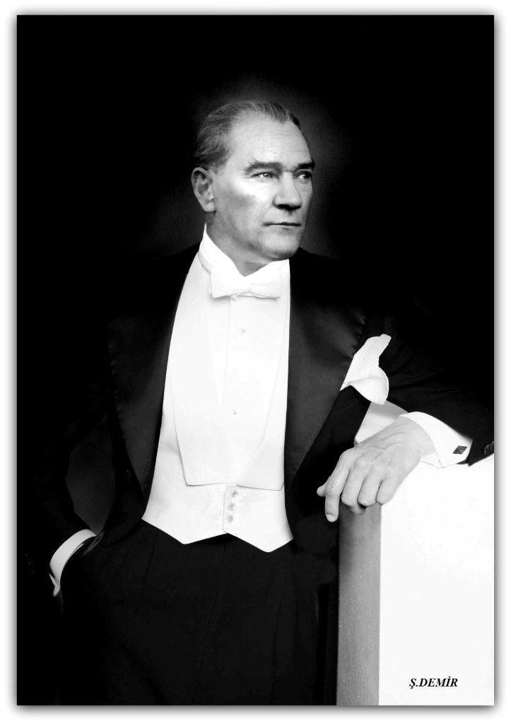 Ataturk 31 12 1929 Turkey History National Heroes Portrait