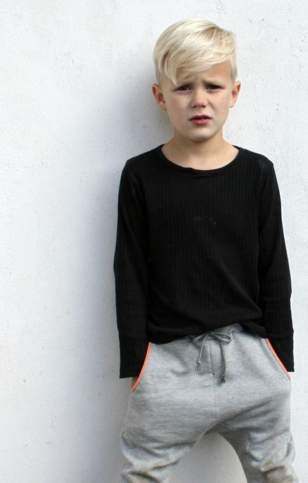 This would look cute on the boys...good mix of short and long!