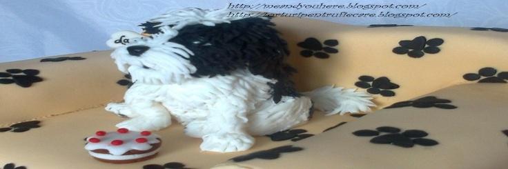 Tort cu Puffy pe canapea