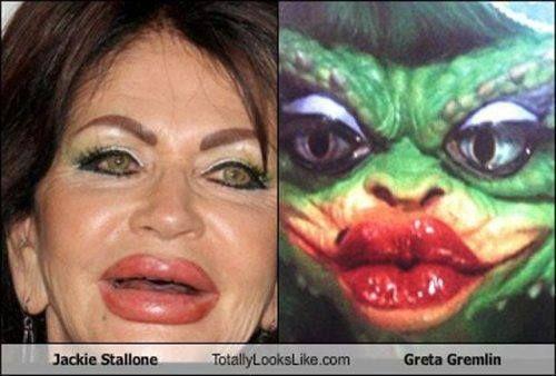 Jackie Stallone / Greta Gremlin