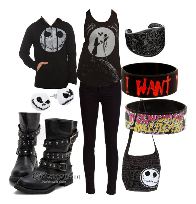 Pin By Kyrah Britt On Polyvore Scene Outfits Punk Outfits Fashion