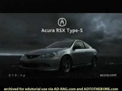 2006 Acura RSX rare ad