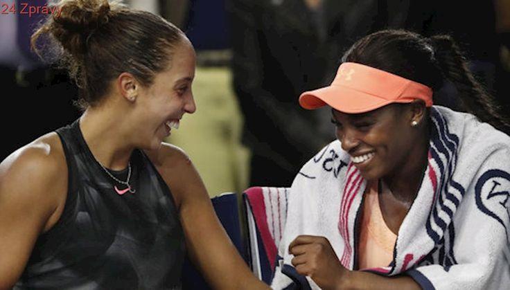 Nezvyklé scény po finále US Open. V baru platíš ty, smály se kamarádky