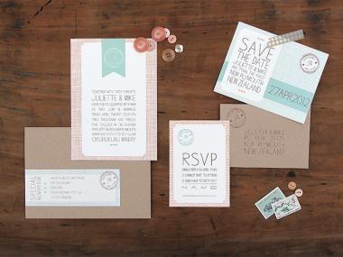 Cute, simple wedding invitations