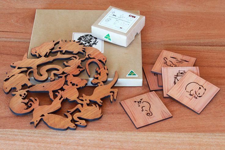 BUY ONLINE Gift Bundle: Australian Animal Combo | Australian Woodwork