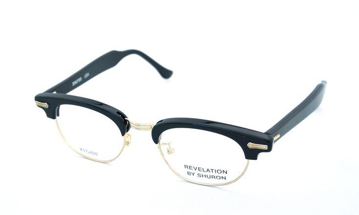 SHURON(シュロン)RONSIR REVELATION (Black/Gold) 46サイズ | メガネ | eyewear | optician | ポンメガネWEB