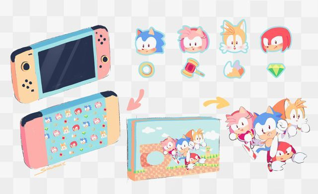 Nintendo Switch Sonic The Hedgehog Edition In 2020 Sonic The Hedgehog Sonic Hedgehog