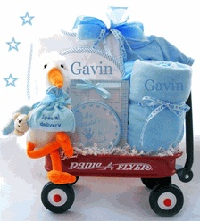 32 best personalized baby boy gifts images on pinterest baby personalized baby boy gifts here comes the stork personalized wagon gift set 12995 http negle Gallery