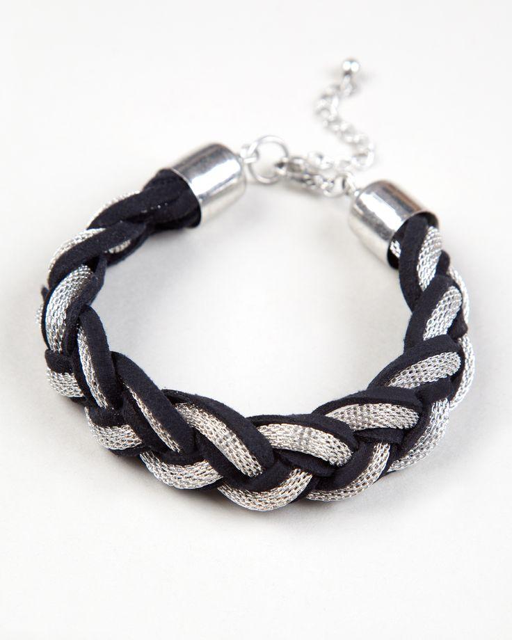 Braided bracelet http://bit.ly/YL1CSb Pulsera trenzada http://bit.ly/1BFIx1I