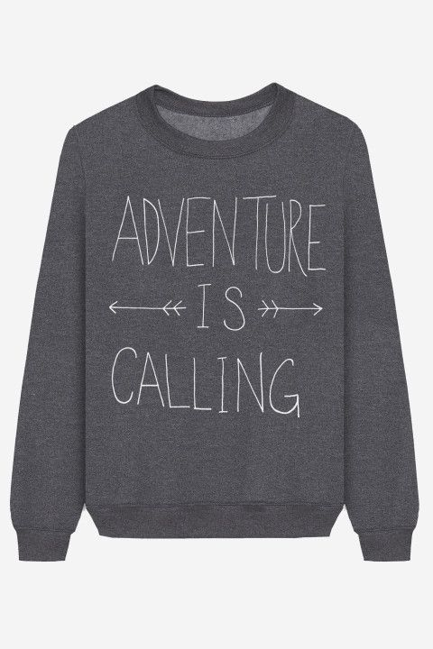 Rad |  Sweater Adventure Is Calling - LEAH FLORES
