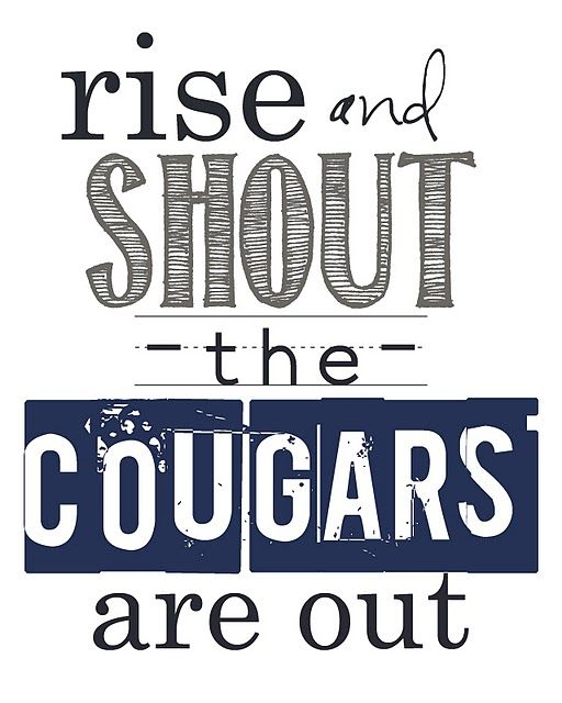 Not so much... But I still love the cougars