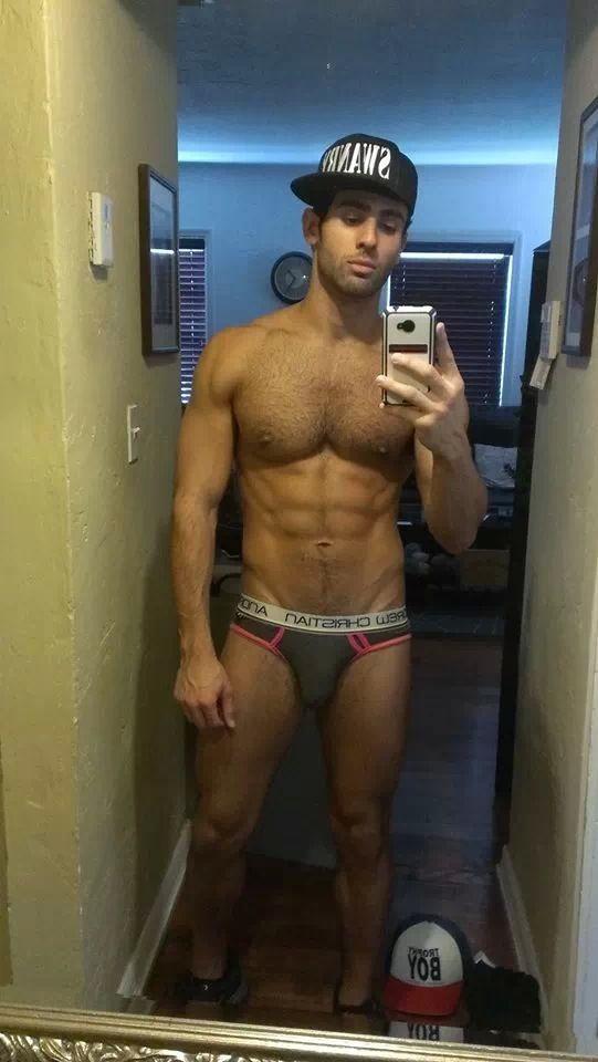Andrew Christian Underwear Fan Selfie 27th December 2013