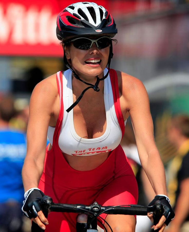 Image result for sexy boobs on bicycles