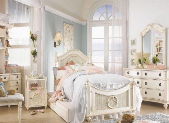 Дизайн интерьера спальни в стиле винтаж | www.womansmagazine.ru