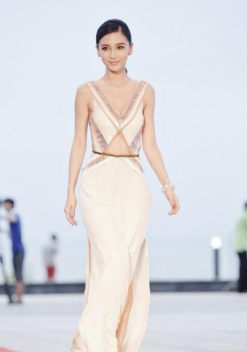 Angelababy gorgeous dress
