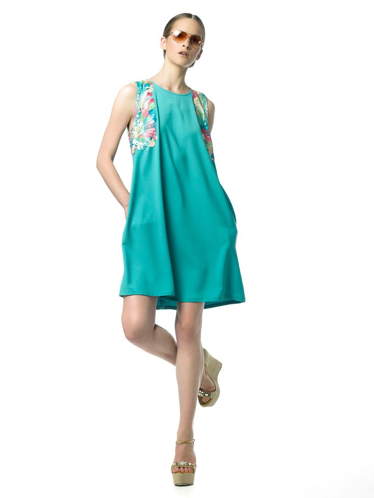 SS 15 Collection by Andria Thomais   #SS15 #girlydress #summerdress #cocktaildress #summer #fashion
