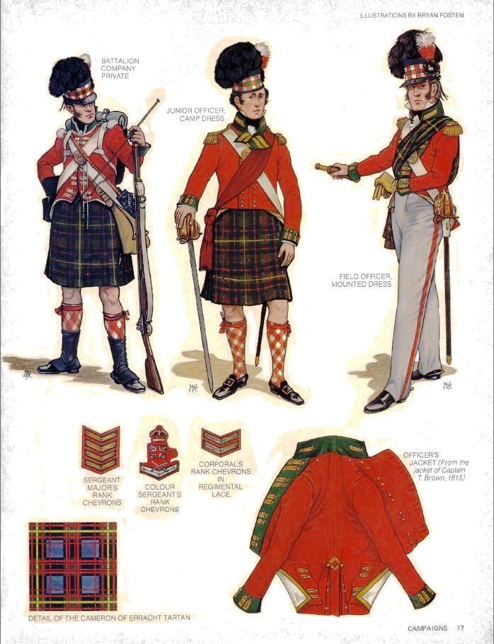 79th Cameron Highlanders - Bryan Fosten                                                                                                                                                                                 More