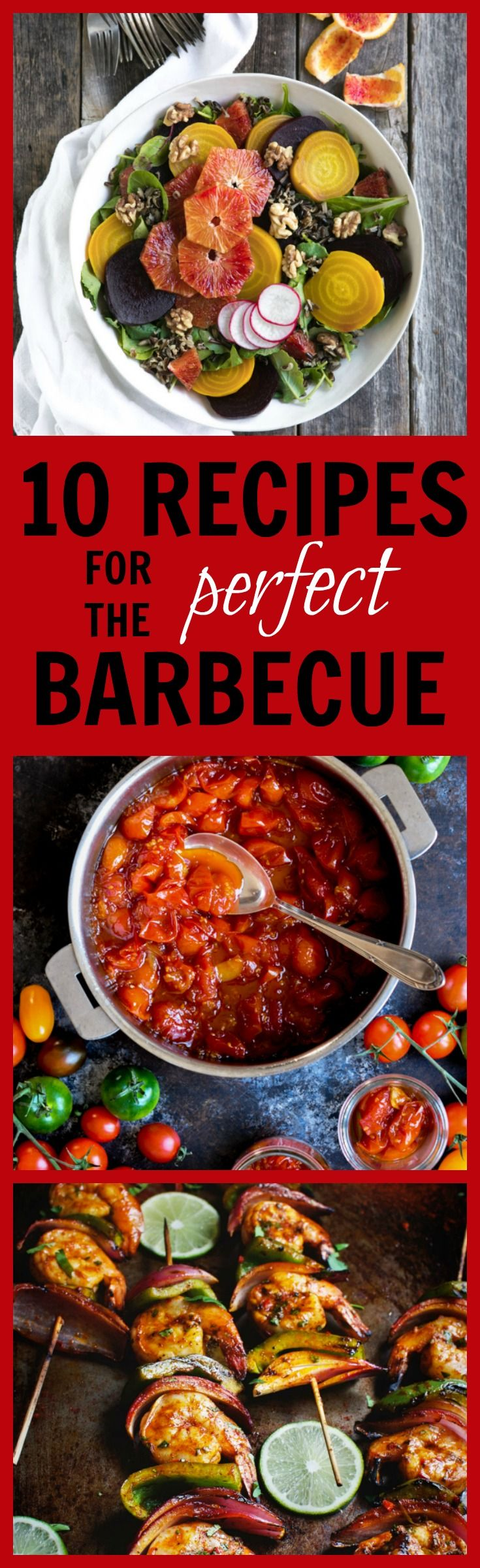 10 Recipes for the Perfect Barbecue Menu