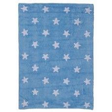 Lorena Canals Teppich Sterne himmelblau