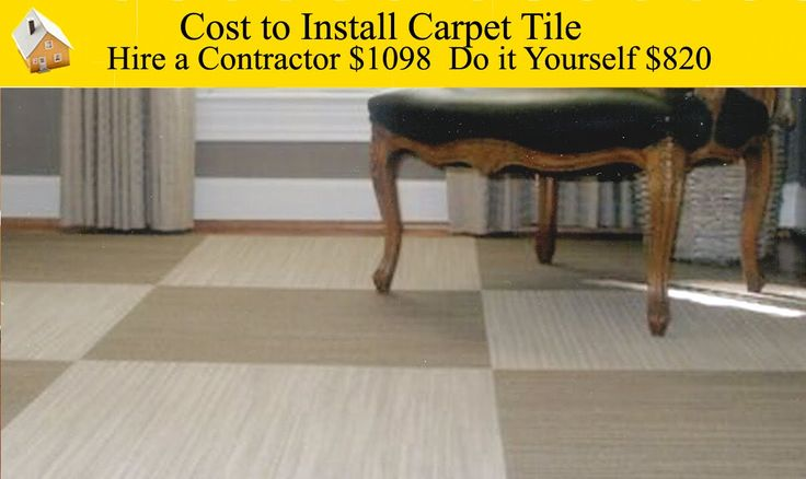 Cost to Install Carpet Tiles - These tiles made of carpet can make any room more stylish.