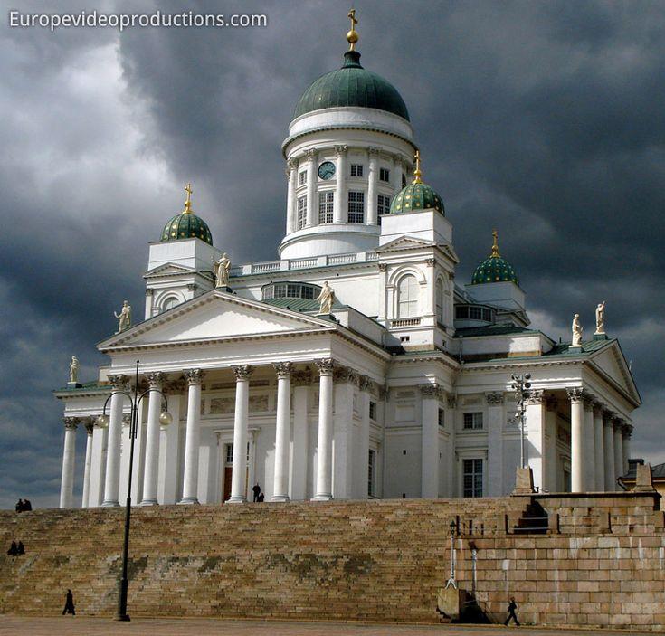 Cathédrale d'Helsinkien Finlande