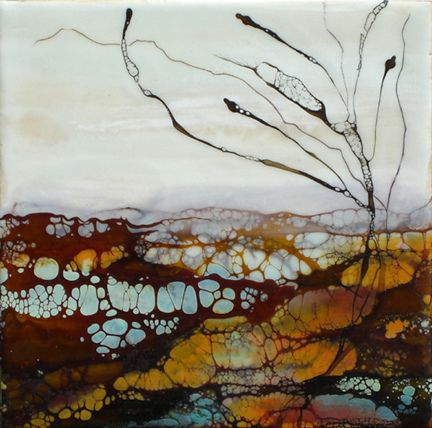 Alicia Tormey encaustic