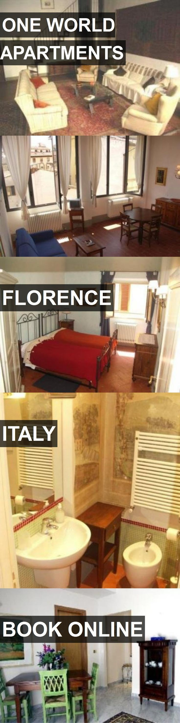 ONE WORLD APARTMENTS in Florence, Italy. For more information, photos, reviews and best prices please follow the link. #Italy #Florence #travel #vacation #apartment