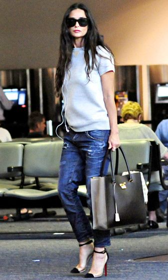 Fly Girl, i think her ballet flats are in the fab tote?