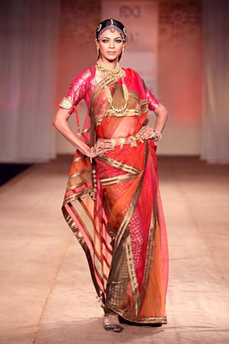 South Indian Bridal look more inspiration @ http://www.ModernRani.com