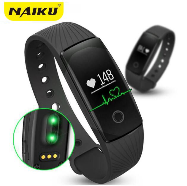 ID107 Smart Band Smartband Heart Rate Monitor Wristband Fitness Flex Bracelet for Android iOS PK xiomi mi Band 2 fitbits smart //Price: $31.72      #sale