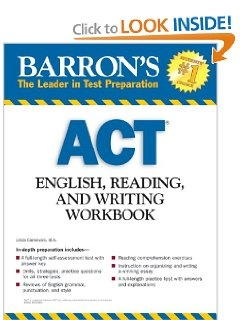 11 best act exam prep images on pinterest funny stuff high school act english reading and writing workbook fandeluxe Image collections