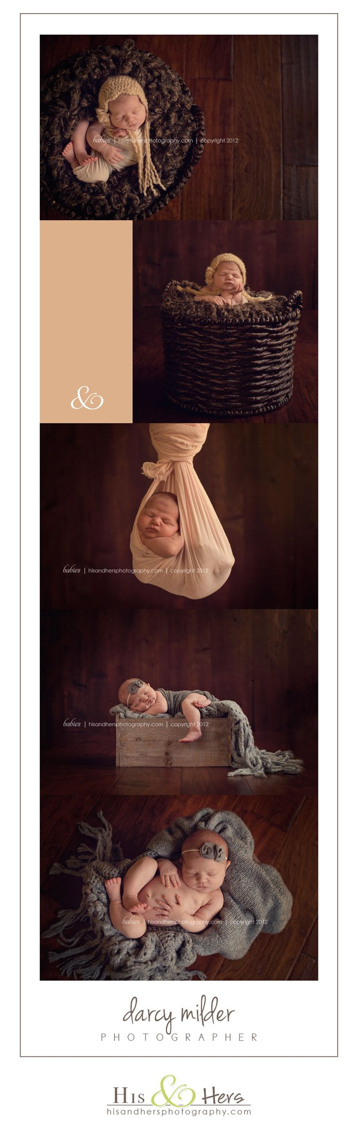 iowa newborn photographer darcy milder | his and hers | des moines, iowa