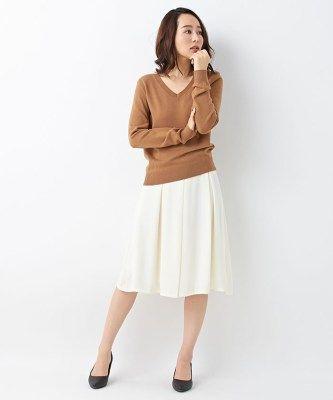 フェミニンコーデにピッタリ。ドレープ性のある記事でスカートに見えるジョーゼットスカーチョ。女性らしさを演出しつつアクティブなシーンにも最適なスカーチョファッションスタイルコーデを集めました♡