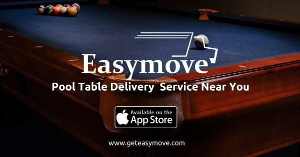 Easymove Is Your Trusted And Reliable Local Pool Table Moving And Delivery Service Request Easymove Pool Table With Images Pool Table Movers Pool Table Cheap Pool Tables
