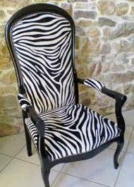 Tissu imitation peau de zebre