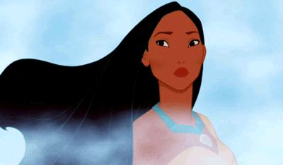 Pocahontas effortlessly mastered windblown hair. | 15 Reasons You're Not A Disney Princess