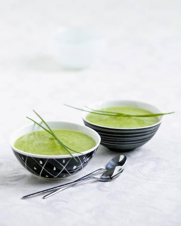 Soupe aux orties - Recettes Elle à Table