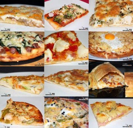 12 receptes de pizza