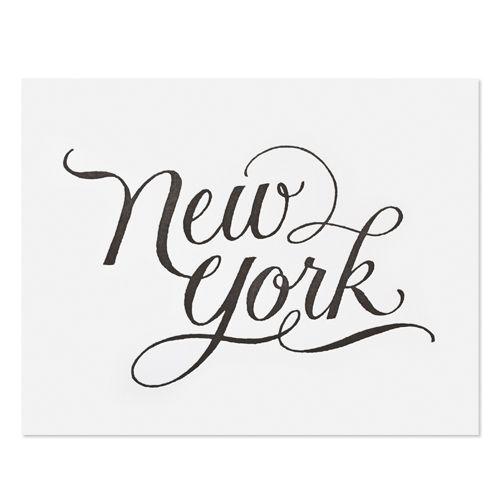 Sugar Paper, Los AngelesSugarpaper, York Prints, Sugar Paper, Art, New York, Gallery Wall, Typography, Letters, Newyork