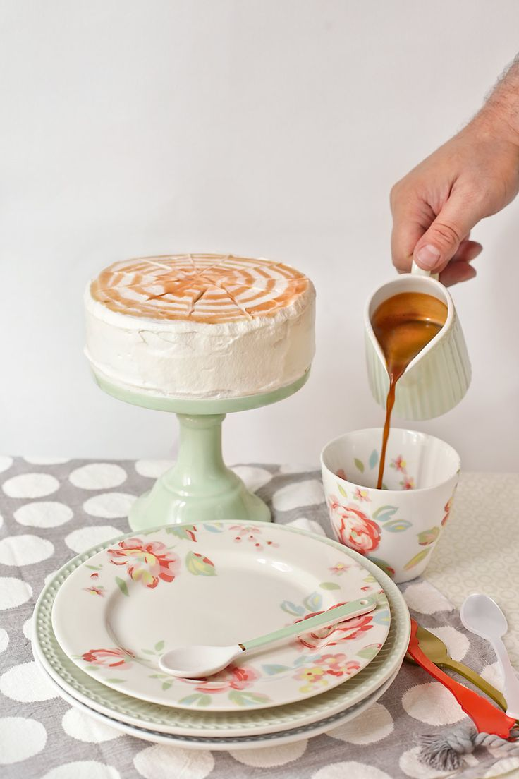 Receta de tarta de café irlandés