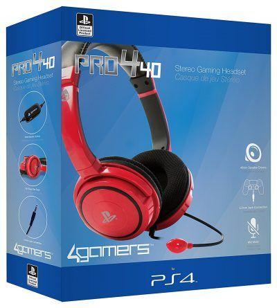 Ardistel stereo gaming headset PRO4-40, Color Rojo (PS4) por 22,99 €  Sácale el máximo #rendimiento a tus partidas con los#auriculares #Ardisteldecolor rojo. Extremadamente cómodos y compatibles con tuconsola PS4.   #chollos #gaming #ofertas #ps4