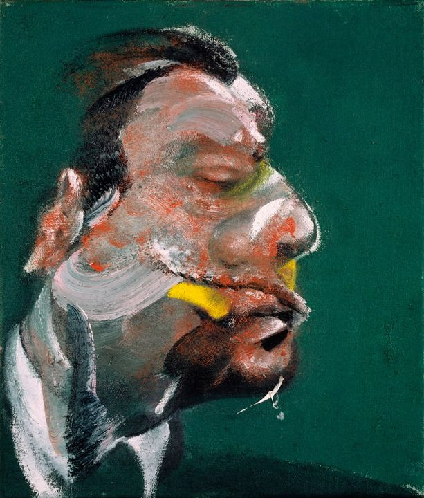 Francis Bacon, 'Study for Head of George Dyer' (1967). Oil on canvas. © The Estate of Francis Bacon / DACS London 2014. All rights reserved.